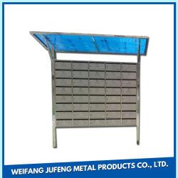 Wohnungs-Metallpfosten-Paket-Mailbox-Anlieferungs-elektronischer Schließfach-Briefkasten