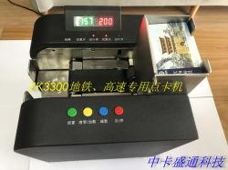 Caixa de contador de cartão