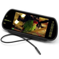 7 polegadas carro TFT MP4/MP5 do Monitor do espelho auto suporte a Bluetooth SD/USB/FM