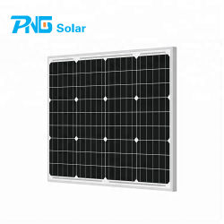 소형 태양열 전원 패널 단결정 65W 솔라 PV 모듈