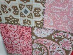 家庭用テキスタイル用の、アペシアル柄の寝具ファブリックキルトカバー