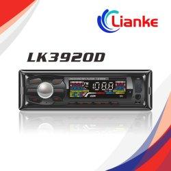 Panel desmontable coche reproductor de MP3 con FM/USB/SD, Car Audio Estéreo, pliegue