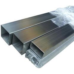 304 316 409 مستديرة/مربعة/أنبوب مستطيل 309S من الفولاذ المقاوم للصدأ أنبوب فولاذي 2 مم