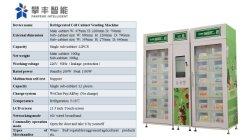 Com moedas Smart Phone Relógio inteligente Combo Snack Guardanapo Sanitário máquina de venda automática da tela de toque de Quiosques de Venda Directa