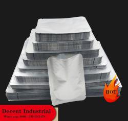 평평한 바닥형 알루미늄 호일 지프 락 비닐 백 포장 가방 뜨거운 제품