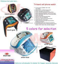 Het Horloge van de Telefoon van de Cel van Triband (WTW9007)