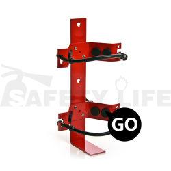 Alta calidad de fabricación de metal extintor de incendios el soporte de pared