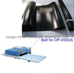 مصهر PTFE حزام آلة مانع للكهرباء الاستاتيكية مانع للشفة مع رباط سلس حجم مختلف بالنسبة لقمة أوشيما هاشيما، كل نموذج العلامة التجارية الصهر آلة الصحافة