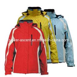 Desportos ao ar livre das mulheres Wind-Proof Water-Proof jaqueta de esqui (pH-S05)