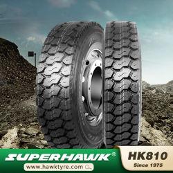 온-오프 도로 트럭 타이어 11r22.5, 12r22.5, 12.00r20 의 Superhawk 타이어, 중국 공장 판매