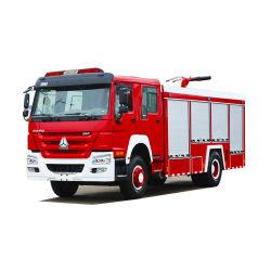 7-10т для тяжелого режима работы Sinotruck HOWO 7000L-10000L пожарной воды двигателя из пеноматериала пожарная погрузчика