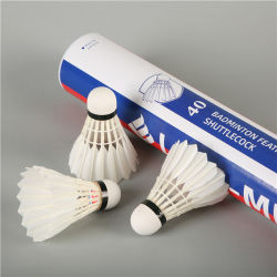 Topo Pato Natural Feather Peteca para Badminton Aeroporto Cock