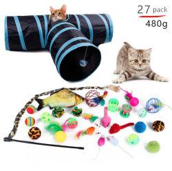 قط Toys سعر تنافسي شعبية مضحك أسلوب القط Wand لعب لعب لعب الحيوانات الأليفة كيتن