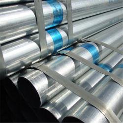 Deutsches Standardmaterial Ck45/Q345 galvanisierte quadratische /Round-Gefäße/Rohr geschweißter Fluss-Stahl-Rohr-Schwarz-Oberflächen-großer Durchmesser