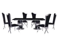 Современный новый дизайн мебели столовая мебель обеденный стол,