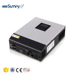 3000watts de convertisseur de puissance DC 24V à l'AC 230V Convertisseur solaire avec affichage de tension hors d'onde sinusoïdale pure le convertisseur de grille avec Pots USB