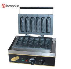 스테인리스 220V 1550W Electric Crispy 프랑스 Muffin Corn Dog Waffle Maker Machine Waffle Maker Shapes Waffle Stick Maker