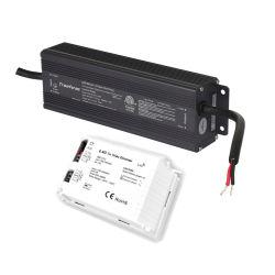 200W 12V 24V Triac Dimmable LED 변압기(2A 조광기 포함 주도이자 트레일 에지