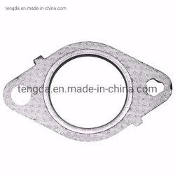 액세서리 범용 스테인리스 스틸 배기 머플러 플랜지 배기 파이프 연결부 51mm 63mm 76mm 조인트 개스킷