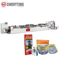 Plastikimbiss-Verpacken- der Lebensmittelbeutel-Reißverschluss Fastfood- Doypack Beutel-Beutel, der Maschine herstellt