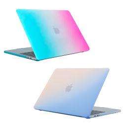 O gradiente de cores MacBook 13.3 PC notebook de ar caso tampa da luva do laptop