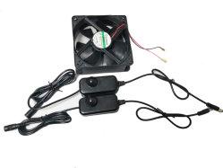 Cc OEM Aquecedor Vehicle-Mounted Ajuste do Regulador Controlador PWM para a indústria automóvel do ventilador de refrigeração com adaptador na parede