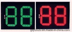 760X630mm zweifarbiger Verkehrs-Count-down-Timer zwei Digit-LED zur Fahrbahn-Sicherheit