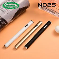Micro USB die van de Smaak van de Rol van het Bewijs van het lek de Ceramische Zuivere Geen Olie Cbd van het Afval 0.5ml van de Olie Slanke Beschikbare Pen laden