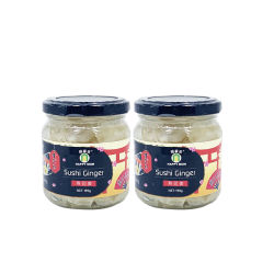 Couleur blanche 190g Le flacon en verre de l'UE Gingembre mariné recette Sushi