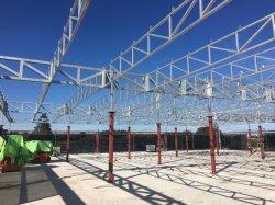 هيكل فولاذي مبنى سقف بافليون مع قطاعة بدون أكلس