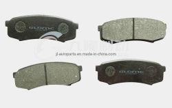 Venta caliente de cerámica de alta calidad Semi-Metallic Pastillas de freno piezas de automóviles Toyota Land Cruiser Prado D606/04465/04466/04492) Eje Trasero Auto Parts