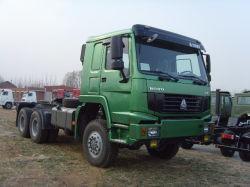Sinotruk/Cnhtc HOWOは6X4主発動機Truckを長強く引く