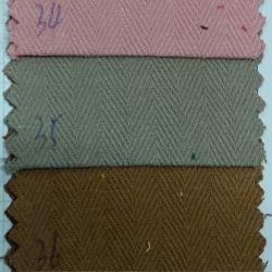 Textil Stock diseño tejido de algodón teñido de espina de pez tejido tejidos de prendas de vestir
