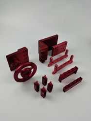 Aço personalizados/Alum/peças de máquinas e peças de plástico