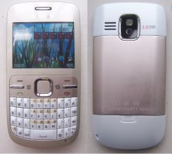 이중 SIM 카드 텔레비젼 통상배열키보드 전화 (C3)