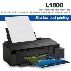 織物のTシャツの熱伝達の印刷のための大きいフォーマットA3+ 6カラーインクジェット・プリンタL1800