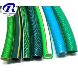 PVC 정원 관수 호스 1/2 인치 5/8 인치 3/4인치 옐로우 블루 그린 소프트 가든 파이프 튜브