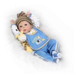 Hechos a mano 55cm de recién nacidos Bebe22 pulgadas barato de silicona suave muñecos Reborn Real para la venta bebé Boneca de silicona de renacer.