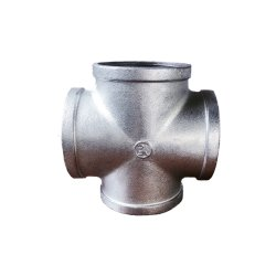 電流を通された可鍛性鉄の管付属品-十字