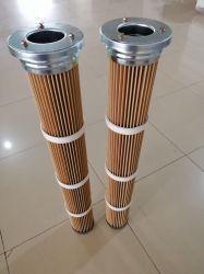 Haute Température/PPS Nomex 200 degrés en acier inoxydable résistant à la cartouche du filtre du filtre à air