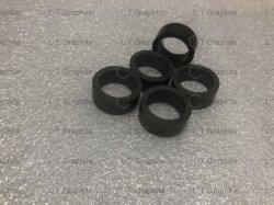 Textiles de alto carbono conductoras de electricidad de grafito el anillo de sellado