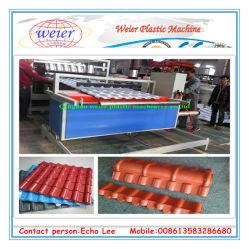1040 мм пластиковый ПВХ на испанском языке и штучных кровельных листов производственной линии