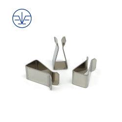 Ежемесячные сделки высокое качество пользовательских хомуты листовой металл металлические пружинный зажим