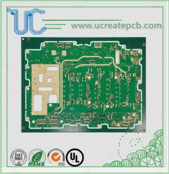 12layers Mehrschichtige HDI-Hochfrequenz-Starrstromleiterplatte