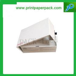 Tampa articulada Caixa promocional com almofada interior em espuma caixa de embalagem USB e Caixa de papel de embalagem das canetas