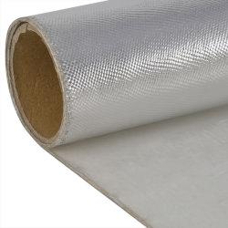 Protection Haute Température d'isolation thermique en aluminium le tissu de verre ignifuge