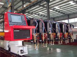 マルチヘッドストリップのフレーム切断機械、ガス切断機械、Oxy燃料の打抜き機