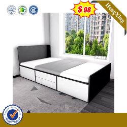 Cama de madeira de carvalho mobiliário dormitório cama moderna carvalho sólido Bed Última sólida cama de madeira