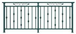 L'acier décoratifs balustrade / balustrade en fer forgé / rampe d'Escalier / rails aluminium