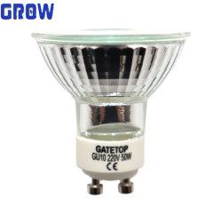 GU10 50W Lámpara halógena de Spotlight 220-240 V el ahorro de energía